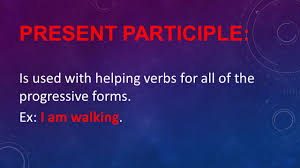 verb usage ppt download