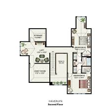 Craft Room Floor Plans Custom Carriage Home The Haverlyn The Carriage Homes At