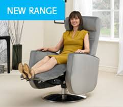 Motorised Recliner Armchairs The California Swivel Riser Recliner Chair
