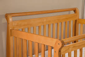 Davinci Emily 4 In 1 Convertible Crib With Toddler Rail Davinci Emily Convertible Crib Oak N Cribs