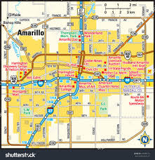 Map Of Tri State Area Amarillo Texas Area Map Stock Vector 143948113 Shutterstock