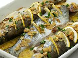 Trout Amandine Baked Trout With Almonds Cookstr Com