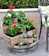 give wooden barrels functionality with these 17 creative recycling