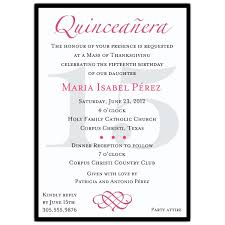 Wedding Invitations Sayings Quinceanera Invitations Wording In Spanish Quinceanera Invitations