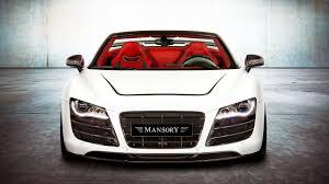 Audi R8 Modified - audi r8 v10 spyder tuned by mansory motor1 com photos