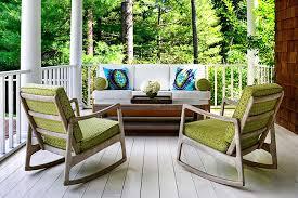 Porch Chair Rocking Chairs Transitional Porch Donna Piskun Design
