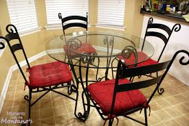 wrought iron dining table glass top wrought iron kitchen table sets trendyexaminer plus special kitchen
