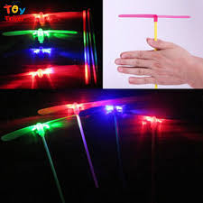 led light up toys wholesale triver toy wholesale 100pcs plastic bamboo copter bamboo dragonfly