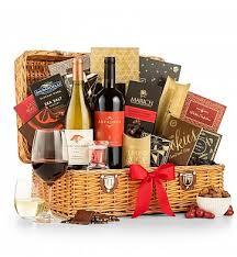 christmas wine gift baskets christmas wine baskets wine gift baskets gifttree