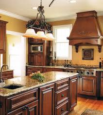 Rustic Kitchen Hoods - kitchen stylish rustic design with pro viking range large wood