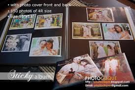 sticky photo album photoclique