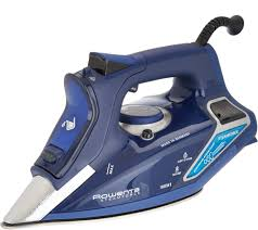 home clearance on easy pay for the home qvc com rowenta steamforce 1800w iron with electronic steam pump v34724