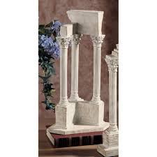 amazon com design toscano roman forum temple of vespasian corner