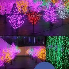 led landscape tree lights beautiful led cherry blossom christmas tree lighting p65 waterproof