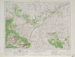 Map Of Billings Montana by Billings Topographic Maps Mt Usgs Topo Quad 45108a1 At 1