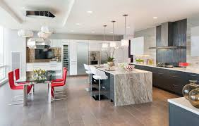 modern kitchen countertop ideas beautiful waterfall kitchen islands countertop designs