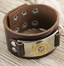 leather bracelet images 12 gauge shotgun shell leather bracelet the well armed woman jpg