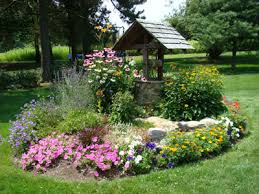 landscape wishing with flowers of pleasure however go to