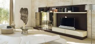 apartments outstanding cool living room with buit in tv cabinet