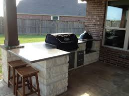 grilling porch l shaped bbq island for big green egg google search backyard