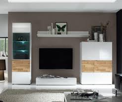 Wohnzimmer Ideen Eiche Wohnwand Modern Eiche Weiß Tesoley Com
