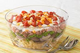 salad pasta layered pasta salad kraft recipes