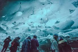 a fabulous scenic drive that ended in an ice cave hit iceland