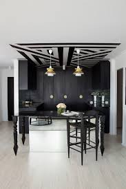 Modern And Contemporary Furniture by Ceiling Work With Glass Home Bar Modern And Contemporary Bar