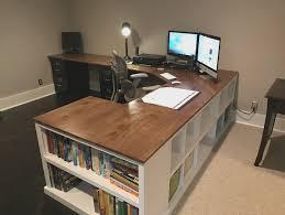 Corner Desk Plan Diy Corner Desk Using White Fancy X Desk Plan With A