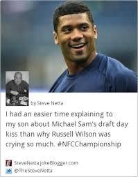 Michael Sam Memes - best michael sam memes joke i had an easier time explaining to my