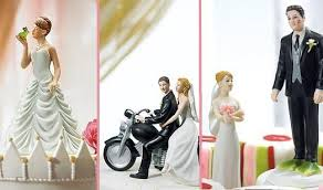 figurine mariage mixte une figurine de gateau de mariage tendance paperblog