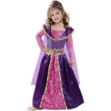 Medieval Halloween Costumes Medieval Princess Child Halloween Costume Walmart