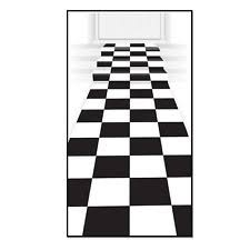 White And Black Area Rug Black And White Rug Ebay