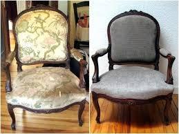 comment retapisser un canapé comment retapisser un fauteuil refaire un fauteuil avant apras qqc