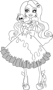 11 images of ever after high baby coloring pages monster high