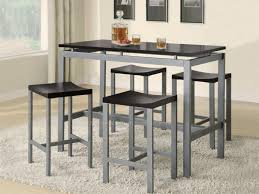 Large Kitchen Tables And Chairs by Kitchen High Top Kitchen Table And 4 Roundhill Furniture Glass