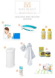 mama mondays nontoxic baby registry part ii bare beauty