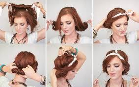 Hochsteckkurzhaarfrisuren Haarband by Coiffure Vintage à Faire Soi Même Sublimez Votre Look