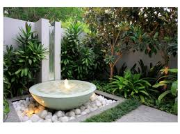 modern water feature modern water features for small gardens home dignity and feature