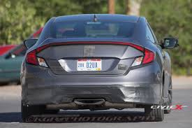 2017 honda civic si coupe first sighting page 21 2016 honda