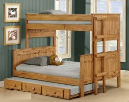 Pine Crafter American Made Quality Furniture Bunk Beds - Pine bunk bed