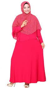 Baju Muslim Dewasa Ukuran Kecil model baju muslim wanita modern untuk anda yang gemuk