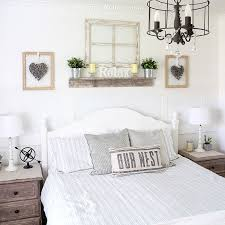 Bedroom Lamps New Rustic Farmhouse Bedside Lamps In The Master Bedroom