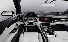 porsche macan white interior comparison audi q8 hybrid 2018 vs porsche macan turbo 2018