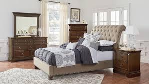 upholstered bedroom set charleston upholstered bedroom set standard furniture furniture cart