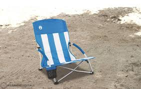 Folding Low Beach Chair Summeressentials Low Sling Beach Chair Captiv8 Promotions