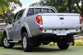 mitsubishi trucks 2014 2014 mitsubishi triton glx mn my15 silver for sale in berwick