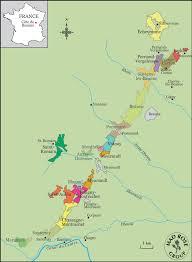 Map Of Burgundy France by Domaine Henri Prudhon U2013 Rosenthal Wine Merchant