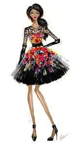 a pretty evening gown fashion drawings pinterest fashion