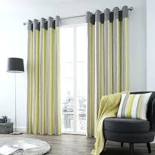 Yellow And Grey Curtain Panels Grey And White Curtains Gray Curtains Grommet Along With Grey